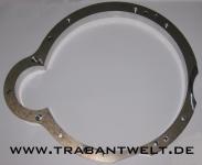 Adapterplatte für Wartburgmotor am Trabant-601-Getriebe Wabant