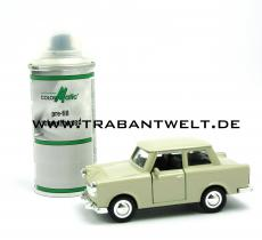 Farbspray Autolack Papyrusweiß 132ml Trabant 601