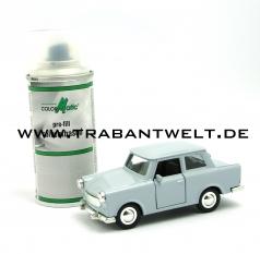 Farbspray 1K-Kunstharzlack Delphingrau 132ml Trabant 601