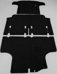 Bodenmatten schwarz 3-teilig Trabant 500 600