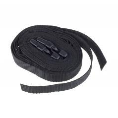 Spannbänder schwarz für Verdeck Trabant Kübel