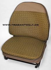 Sitzbezüge ocker Textil Originalmuster Trabant 601 / 1.1