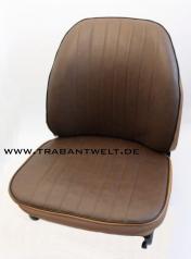 Sitzbezüge Kunstleder braun/braun Trabant 601 / 1.1