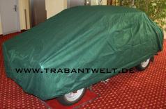 Autoschutzgarage aussen/innen Trabant