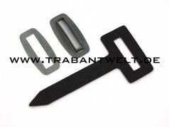 Verdecklasche schwarz 3-teilig Trabant Kübel