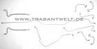 Bremsleitungsset Version Einkreishauptbremszylinder Trabant 601
