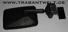Aussenspiegel Kunststoff schwarz Trabant 601
