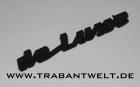 Schriftzug deluxe Trabant Original-IFA