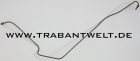 Bremsleitung mitte vorn Trabant 601 Version Zweikreis