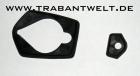 Unterleger Paar für Alu-Türgriffe Trabant 601 schwarz