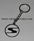 Schlüsselanhänger Chrom-S
