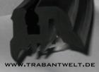 Dichtprofil schwarz Seitenscheibe Limousine / Kombi Trabant 601 1.1