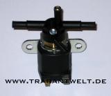 Benzinhahn elektrisch, Nachrüst-Magnetventil 12 Volt