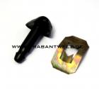 Spritzdüse schwarz für Scheibenwaschanlage Original IFA Trabant