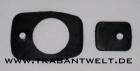 Unterleger Paar für Kunststoff-Türgriffe Trabant 601 / 1.1 schwa