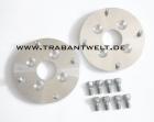 Adapterplatten Aluminium Lochkreis 100-160 Trabant 601