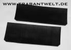 Schmutzfänger Paar vorn schwarz Trabant 601 1.1
