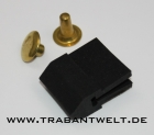 Gummipuffer inkl. Niete für Motorhaube Trabant P50 / P60