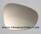 Spiegelglas für Aussenspiegel Nierenform Trabant 601