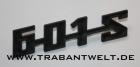 Schriftzug 601-S Trabant Original-IFA