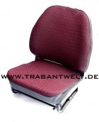 Sitzbezüge rot Textil Originalmuster Trabant 601