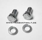 Lagerbock-Befestigungsschrauben-Paar für Stoßdämpferaufnahme Trabant 601