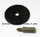 Knopf für Türschloßentriegelung 2-teilig Trabant 601/ 1.1