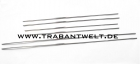 Zierleistensatz Aluminium 12 mm 6-teilig Trabant 500 600