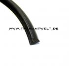 Spiegelglas - Keder schwarz für Nierenspiegel Trabant 601