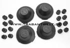 Radkappensatz 20-teilig Kunststoff schwarz IFA Trabant 601