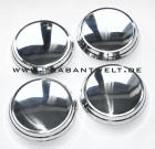 Radkappensatz Aluminium flach Trabant 601