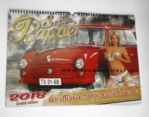 Trabant-Erotik-Kalender 2018 Edition