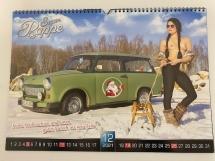 Trabant-Kalender Autos des Jahres 2021 Edition